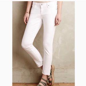 Anthropologie AG white pants
